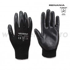 Manusi de protectie mecanica cat. II, TOUCH BLACK, RENANIA, art.1C95