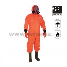 COMBINEZON DE PROTECTIE  CU CIZME INTEGRATE, OVERALL, art.A413 (580)