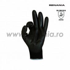 Manusi de protectie mecanica cat.II, Sensor Black, Renania, art.C200 (1464PN)