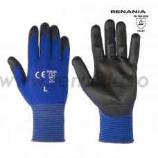 Manusi de protectie mecanica cat. II, RENANIA, BLUE LITE, art. C965