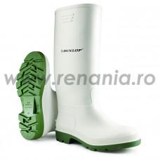 Cizme Dunlop Pricemastor White, art.4A37