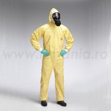 Combinezon de protectie chimica Tychem C, art.B906 (4082TC)