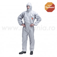 Combinezon de protectie chimica Tychem F Standard, art.B907 (4082TF)