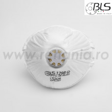 Semimasca simpla cu supapa FFP2 BLS, art.D041 (129BW)