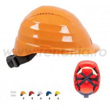Casca de protectie Rockman + dispozitiv de reglare + suspensie textila, art.D273 (2694TXD)