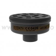 Filtru A2 cu carcasa plastic, art.D418 (BLS) (411A2)