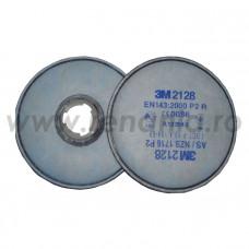 2128 Filtre P2 + Carbune Activ (2 buc), art.6D33