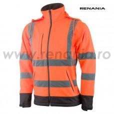 ATENA jólláthatósági softshell dzseki (narancssárga) art.5B17
