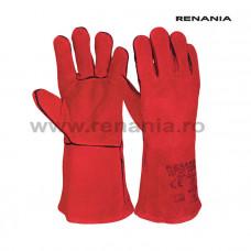 Manusi de protectie pentru sudura, ignifugata, Welder, RENANIA, art.C308 (1801R)