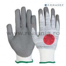 Manusi tricotate din fibre sintetice, imersata in palma, Puretough, art.C830 (P5000)