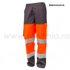 Pantalon Talie Cu Benzi Reflectorizante Flash, RENANIA, art.38B2
