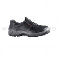 Pantof de protectie, din piele, cu bombeu metalic, cuneo s1, art.A160 (2304)