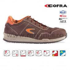 Pantof de protectie cu bombeu aluminiu si lamela, YASHIN, art.19A3 S3