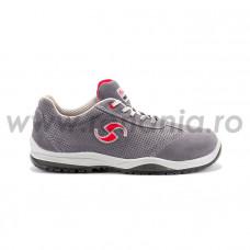 Pantof de protectie cu bombeu din aluminiu si lamela antiperforatie non-metalica  DANCE S1P SRC, art.A516 (91195-27)