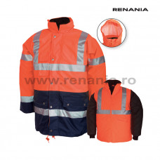 FINLAND 3 az 1-ben vízálló téli fényvisszaverő rövid kabát art.5B60 (9198)
