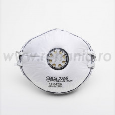 Semimasca cu supapa si elastic ajustabil FFP2, art.D105 RS (BLS) (226B)