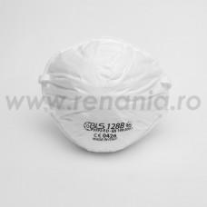 Semimasca simpla tip cupa fara supapa cu nivel de protectie FFP2 BLS, art.D039 (128BW)