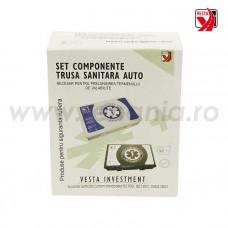 Kit de reumplere consumabile pentru trusa de prim ajutor auto, art.T209 (312K)