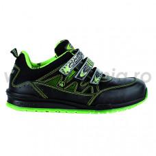 Pantof de protectie ESD cu bombeu aluminiu si lamela, art.Davenport-lime S1P (DAVENPORT-LIME)