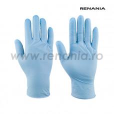 Mănuși de protecție de unică folosință cat. III, SOFT NITRIL, art.1C20