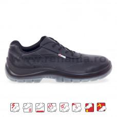 Pantof de protectie cu bombeu compozit si lamela Capri, art.A209 S3 (2465)
