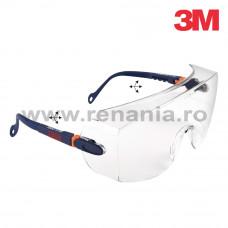 Ochelari de protectie cu lentila incolora, art.D304 (3M) (2800)