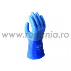 Manusi din nailon/poliester impreganta cu PU respirabil + nitril pe degete, art.C339 (281)
