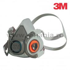 Semimasca cu 2 filtre schimbabile marimea M, art.D709 (3M) (6200)