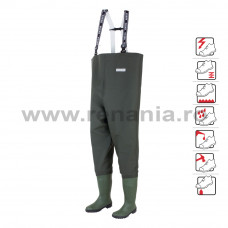 Cizme pantalon de protectie Danubio, art.A412 S5 (577)