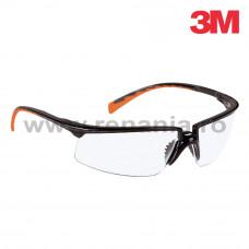 Ochelari de protectie Solus cu lentila incolora, art.D910 (3M) (8025)