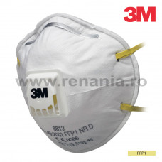 Semimasca simpla cu supapa FFP1, art.1D41 (3M) (8812)