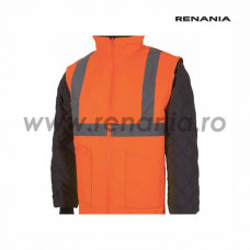 Jacheta cu maneci detasabile reflectorizanta (portocalie), art.5B20 LIVERPOOL (9180)