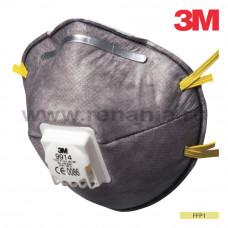 Semimasca in forma de cupa, cu supapa FFP1, art.2D00 (3M) (9914)