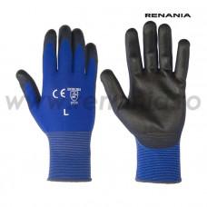 Mănuși de protecție mecanică cat. II, BLUE LITE