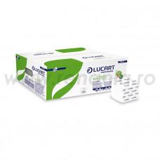 Hartie igienica pliata ECOLABEL, din fibre recuperate ECO 210I, art.F231 (811A77)