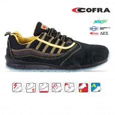 Pantof de protectie cu bombeu de aluminiu si lamela, art.A989 S1P (MARCIANO)