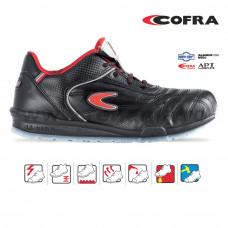 Pantof de protectie cu bombeu aluminiu si lamela, art.A998 S1P (MEAZZA)