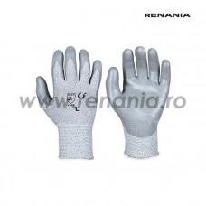 Manusi de protectie anti-taiere nivel B impregnate cu PU RECUT3, RENANIA, art.C285 (1609)