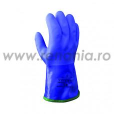 Manusi de protectie chimica din PVC, cu captuseala detasabila COLD&OIL RESISTANT, art.C476 (495)