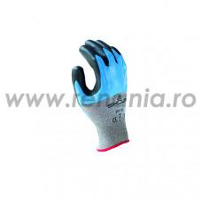 Manusi de protectie din fibre speciale impregnate cu nitril + spuma nitrilica, art.C874 (S-TEX-376)