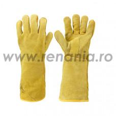 Manusi de protectie din piele pentru sudori WORKGUARD, art.C413 (43-216)