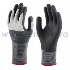 Mănuși de protecție mecanică cat. II, 381 MICROFIBRE (381)