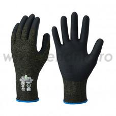 Mănuși de protecție tăiere 5 cat. II, S-TEX-581