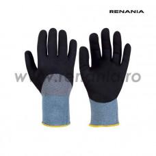 Manusi din nailon impregnate 3/4 cu tehnologia spuma de nitril - NFT KNUCKLE, RENANIA, art.C203 (1466)