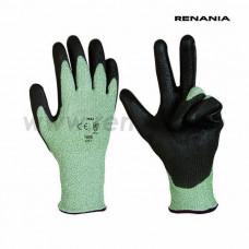 Manusi RENANIA tricotate din Dyneema/fibre sintetice/fibre de sticla Max, protectie anti-taiere art.C282 (1608)