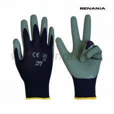 Manusi tricotate nylon Latexgrip, RENANIA, art.C279 (1605)