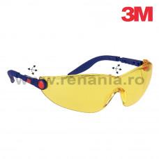 Ochelari de protectie Comfort cu lentila galbena, art.D293 (3M) (2742)