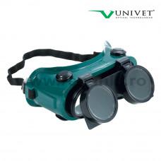 Ochelari de protectie cu lentila de sticla pentru sudori Duo, art.D962 (8104)