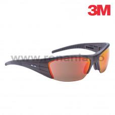Ochelari de protectie cu lentile rosu/oglinda, art.2D94 (3M) (FUEL X2)