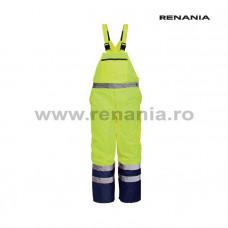DENMARK vízálló, fényvisszaverő téli melles nadrág (sárga)   art.5B27 (9182)